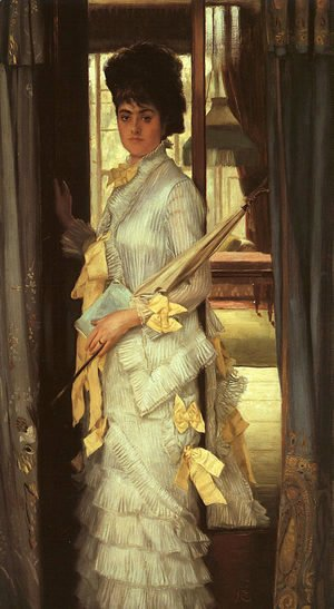 James Jacques Joseph Tissot - A Portrait (Miss Lloyd) 1876