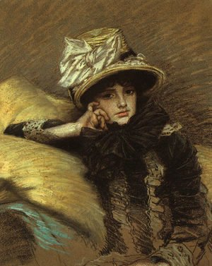 James Jacques Joseph Tissot - Berthe 1882