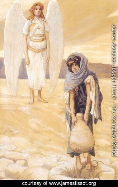Hagar and the Angel in the Desert 1896-1900