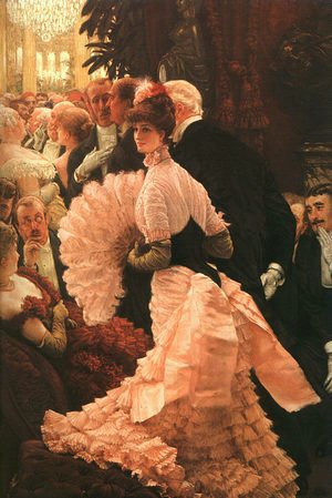 James Jacques Joseph Tissot - L'Ambitiuse (The Political Lady) 1883-85