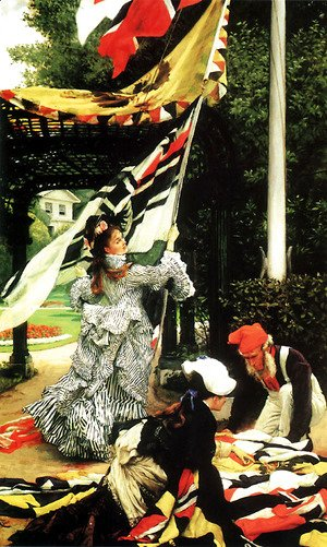 James Jacques Joseph Tissot - Still on Top 1874