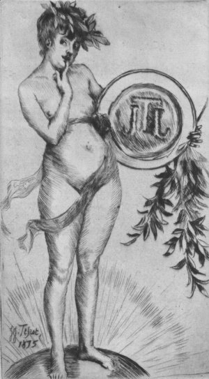 James Jacques Joseph Tissot - Premier frontispiece (avec le monogramme) (First Frontispiece (with the Monogram))