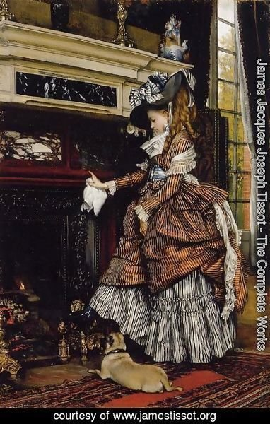 James Jacques Joseph Tissot - The Fireplace