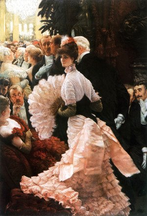 James Jacques Joseph Tissot - The Political Lady