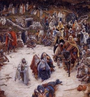 James Jacques Joseph Tissot - What Our Saviour Saw from the Cross (or Christ Consoling the Wanderers)