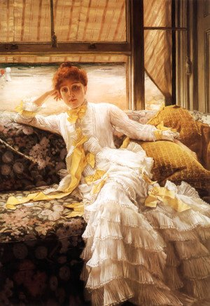 James Jacques Joseph Tissot - Spring (or Seaside)