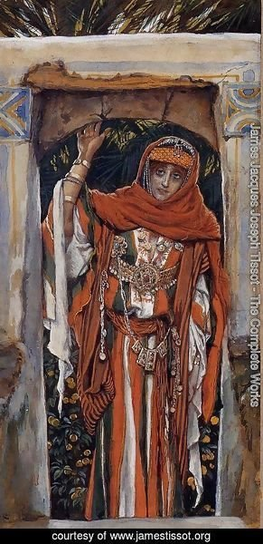 James Jacques Joseph Tissot - Mary Magdalene before Her Conversion