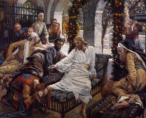 James Jacques Joseph Tissot - Mary Magdalene's Box of Very Precious Ointment