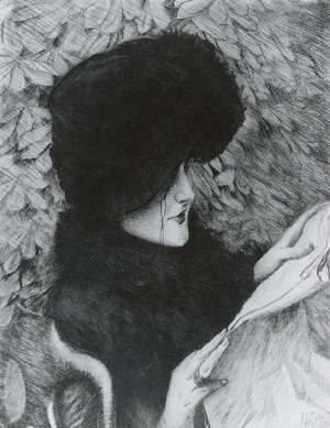 James Jacques Joseph Tissot - Le Journal (The Newspaper)
