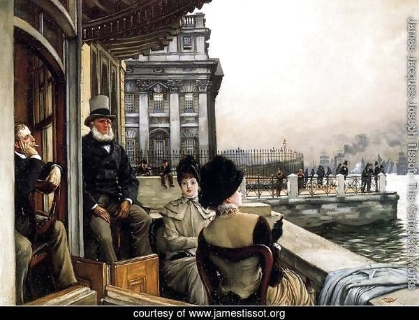 TheTerrace Of The Trafalgar Tavern, Greenwich, London