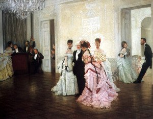 James Jacques Joseph Tissot - Too Early