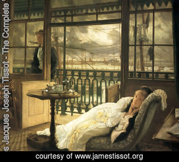 James Jacques Joseph Tissot - A Passing Storm