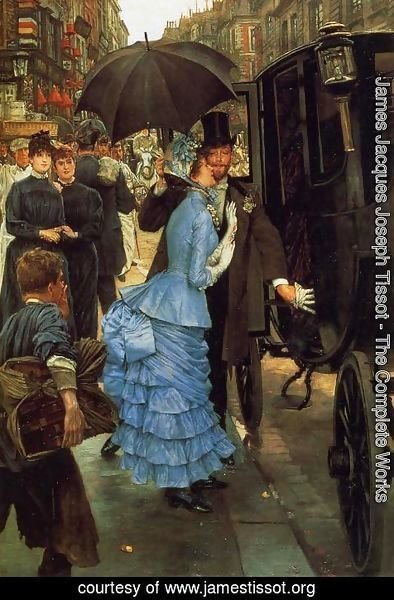 James Jacques Joseph Tissot - The Bridesmaid