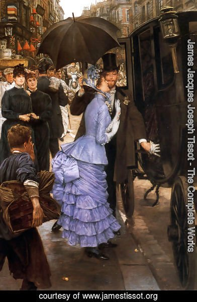 James Jacques Joseph Tissot - The Traveller