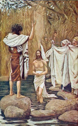 James Jacques Joseph Tissot - Baptism of Jesus