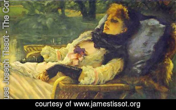 James Jacques Joseph Tissot - The Dreamer