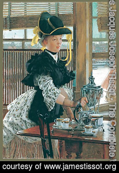 James Jacques Joseph Tissot - Tea 1872