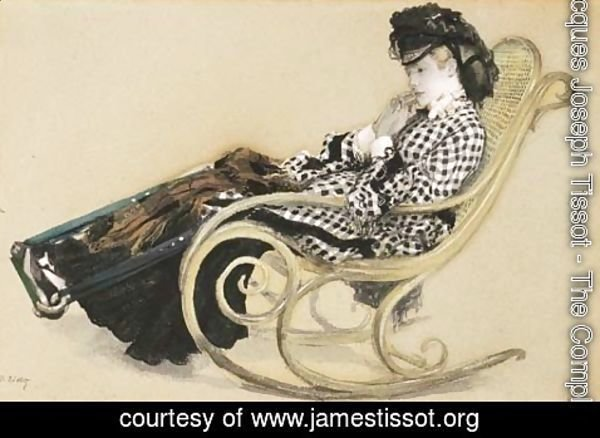 James Jacques Joseph Tissot - Study for 'The Last Evening'