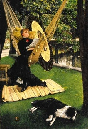 James Jacques Joseph Tissot - The Hammock