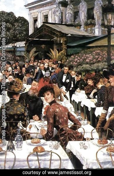 James Jacques Joseph Tissot - The Painters and their Wives
