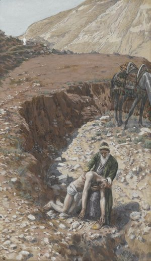 James Jacques Joseph Tissot - The Good Samaritan