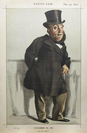 James Jacques Joseph Tissot - Caricature of William Henry Gregory