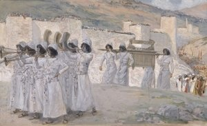 James Jacques Joseph Tissot - The Seven Trumpets of Jericho