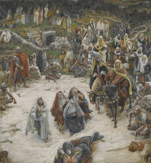 James Jacques Joseph Tissot - Crucifixion, seen from the Cross