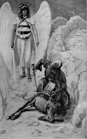 James Jacques Joseph Tissot - Balaam and the Ass, as in Numbers