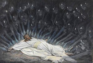 James Jacques Joseph Tissot - Jesus Ministered to by Angels