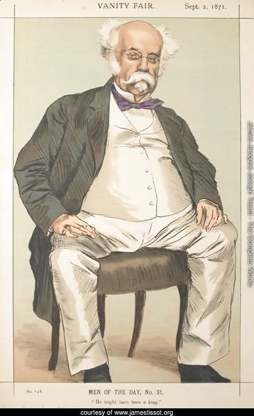 Men or Women of the Day No.310 Caricature of The Duke of Saldanha