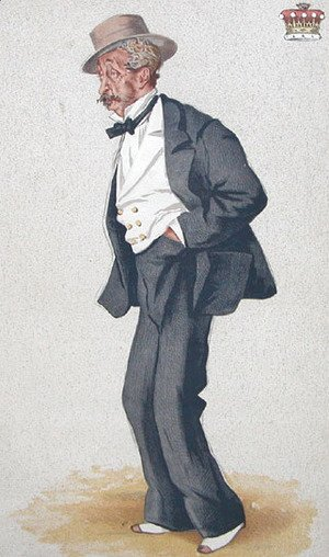 Caricature of Thomas Egerton, 2nd Earl of Wilton