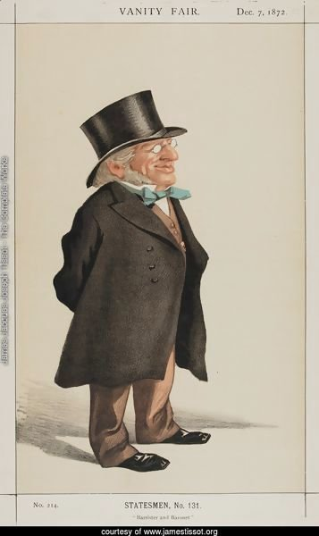 Statesmen No.1310 Caricature of Sir Francis Goldsmid M.P.