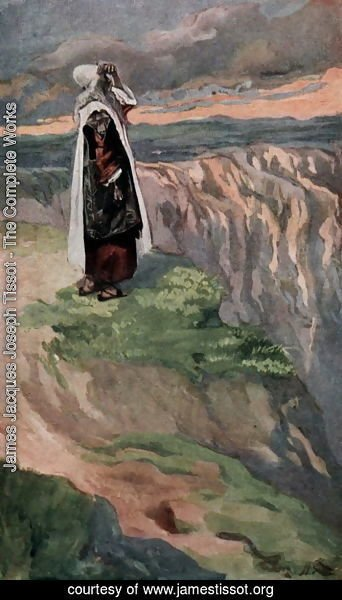 James Jacques Joseph Tissot - Moses Sees the Promised Land from Afar