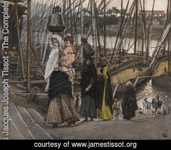 James Jacques Joseph Tissot - The Sojourn in Egypt