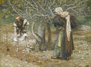 James Jacques Joseph Tissot - The Vine Dresser and the Fig Tree (Le vigneron et le figuier)