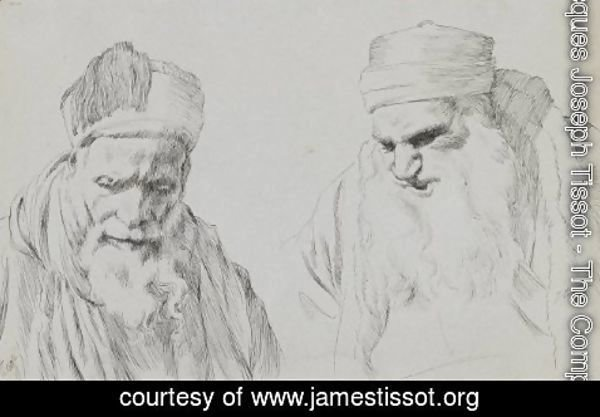 James Jacques Joseph Tissot - Type of Jew 2