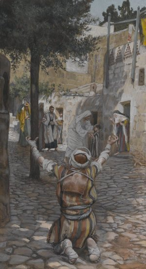 Healing of the Lepers at Capernaum
