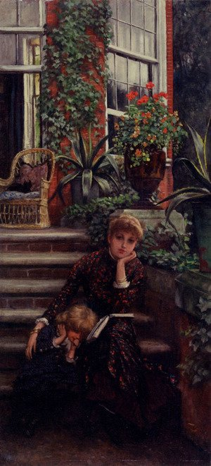 James Jacques Joseph Tissot - Older Sister