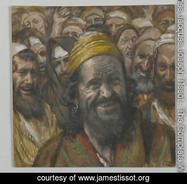 James Jacques Joseph Tissot - Barrabbas, illustration from 'The Life of Our Lord Jesus Christ'