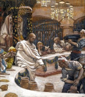 James Jacques Joseph Tissot - Weddding at Cana