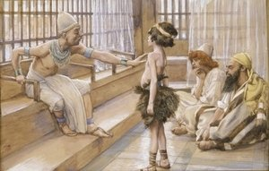 James Jacques Joseph Tissot - Joseph Sold Into Egypt