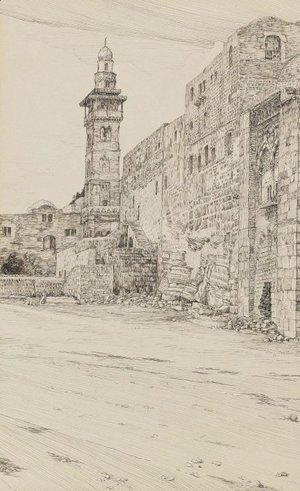 James Jacques Joseph Tissot - Site of the Antonia Tower