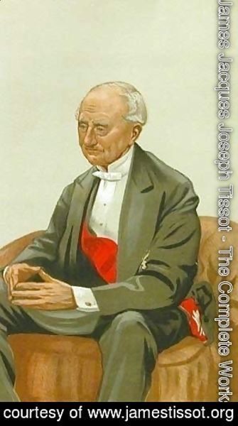 James Jacques Joseph Tissot - Caricature of Admiral Sir Hastings Reginald Yelverton
