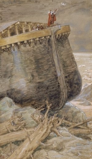 James Jacques Joseph Tissot - The Dove Returns to Noah