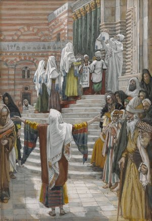 James Jacques Joseph Tissot - The Presentation of Jesus in the Temple