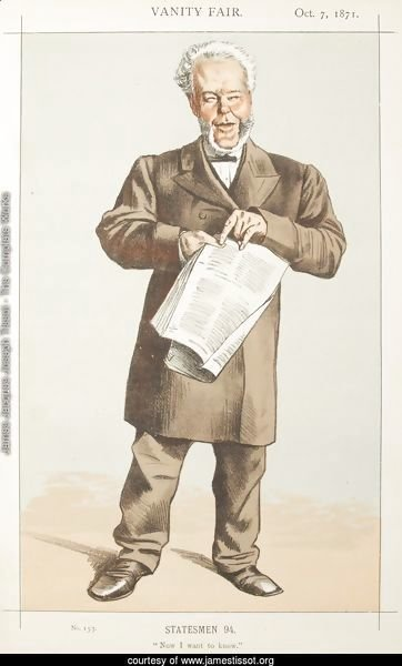 Statesmen No.940 Caricature of Alderman Andrew Lusk M.P.