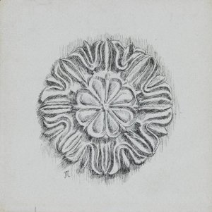 Judaic Ornament (Rosette)