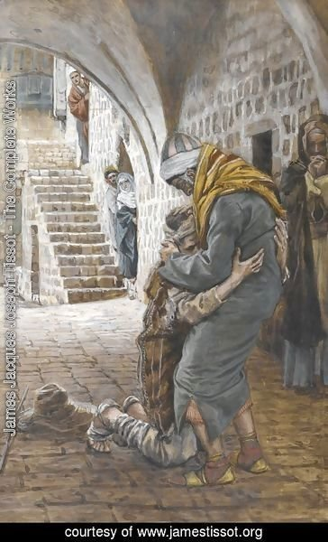 James Jacques Joseph Tissot - The Return of the Prodigal Son, illustration for 'The Life of Christ'