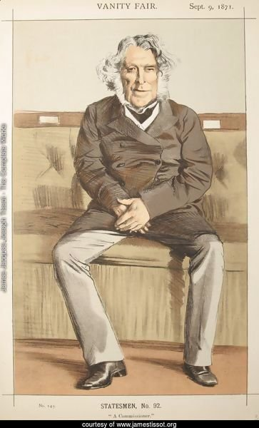 Statesmen No.920 Caricature of the Rt Hon Russell Gurney